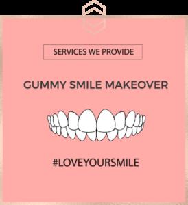 Gummy Smile Makeover - Harley St Smile