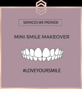 Mini Smile Makeover - Harley St Smile