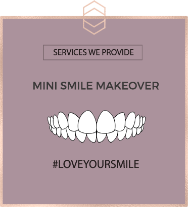 Mini Smile Makeover - Harley St Smile
