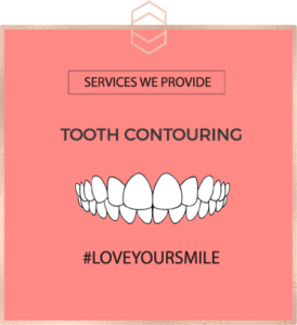 Tooth Contouring - Harley St Smile