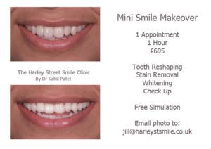 Freebies Mini Smile Makeover Harley St Smile